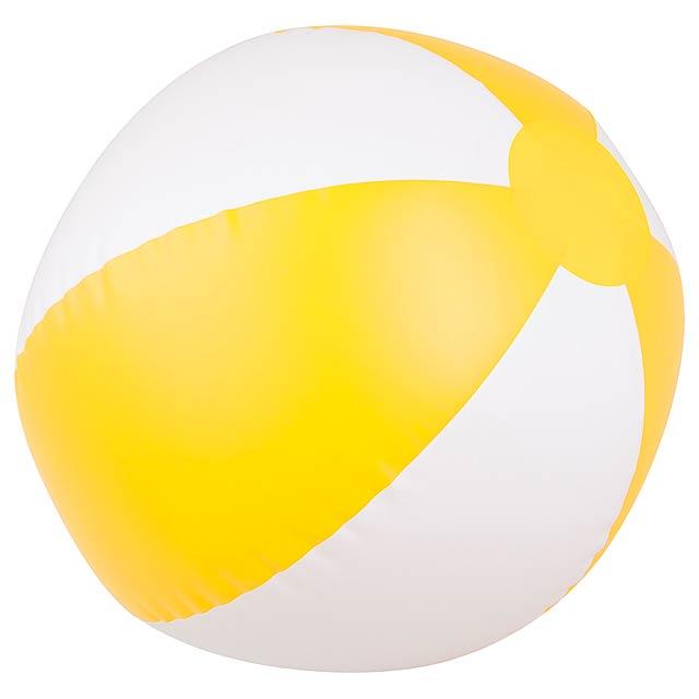 Beach ball - yellow