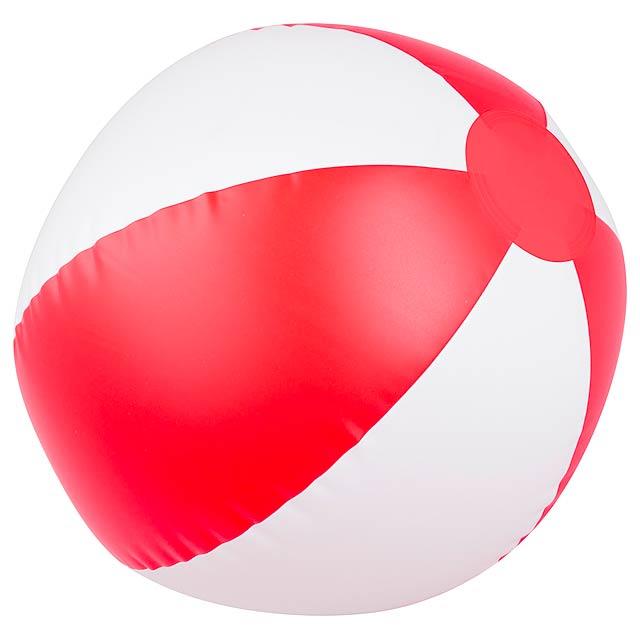 Waikiki plážový míč (ø23 cm) - červená