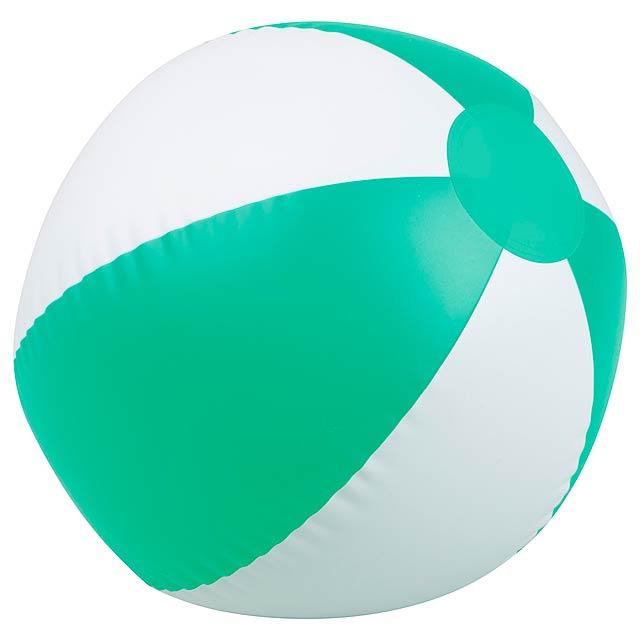 Beach ball - green