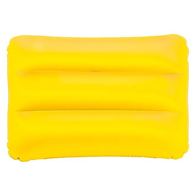 Sunshine nafukovací polštářek - žlutá