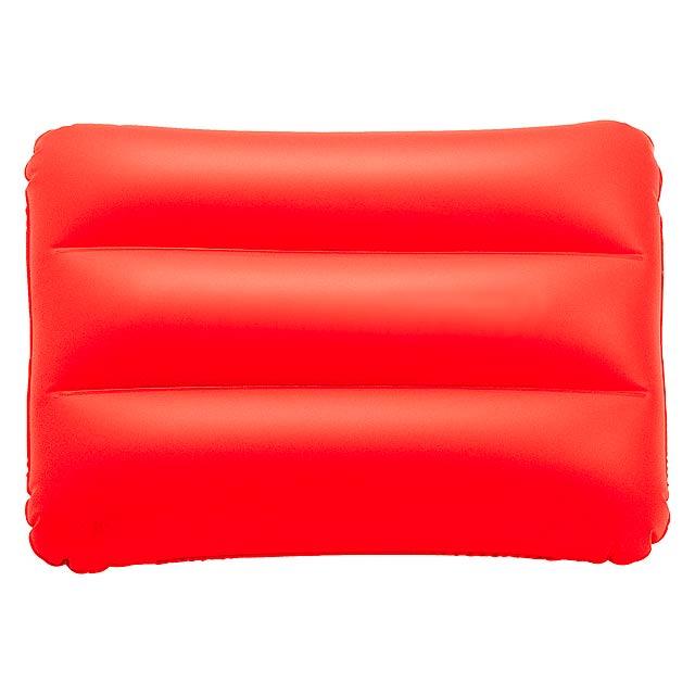 Sunshine nafukovací polštářek - červená