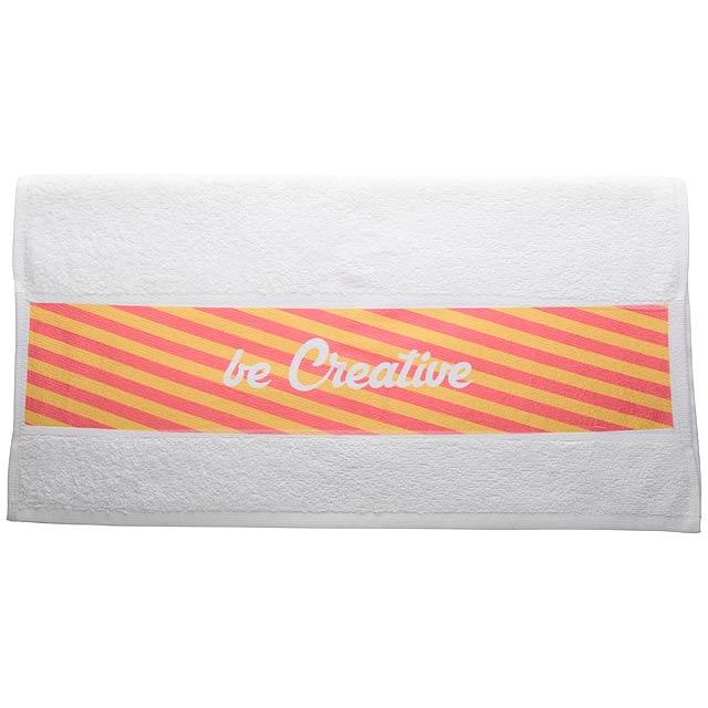 Sublimation towel - white