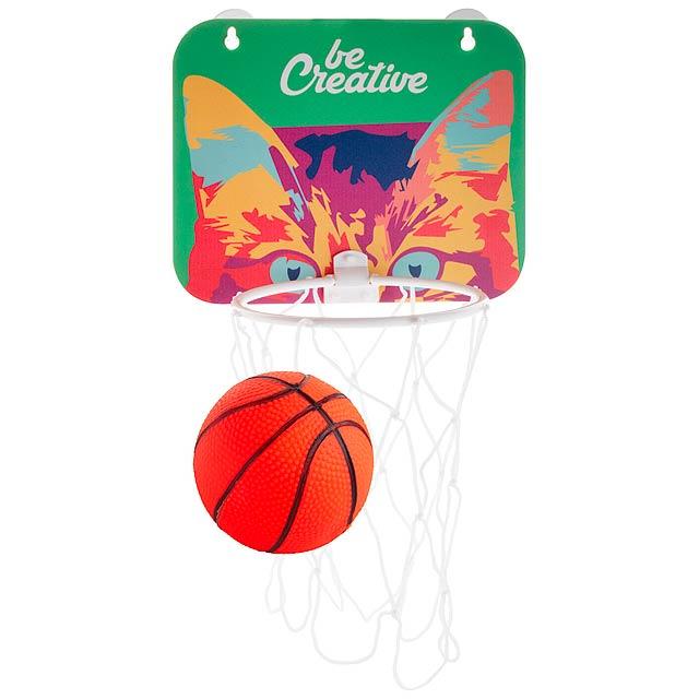 Crasket basketbalový koš - zlatá