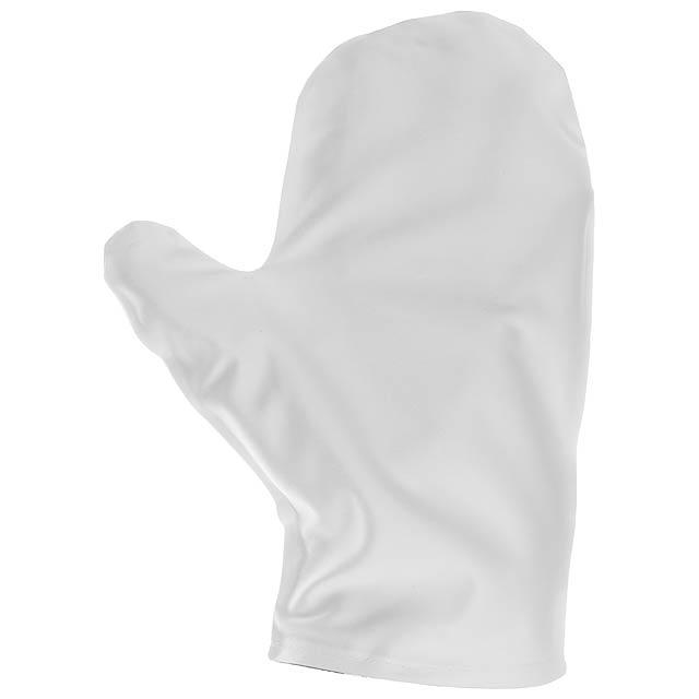 Glouch čistící rukavice na obrazovky - bílá