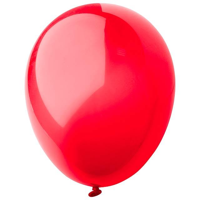 CreaBalloon balonky v lesklých barvách - červená
