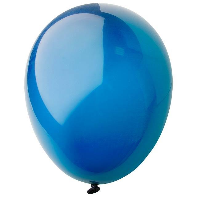 CreaBalloon balonky v lesklých barvách - modrá