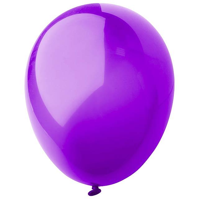CreaBalloon balonky v lesklých barvách - fialová
