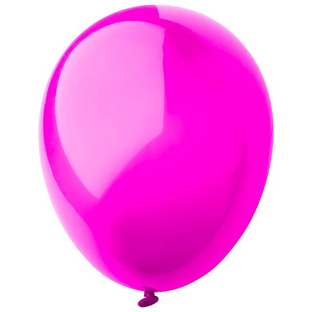 CreaBalloon balonky v lesklých barvách - fuchsiová (tm. růžová)