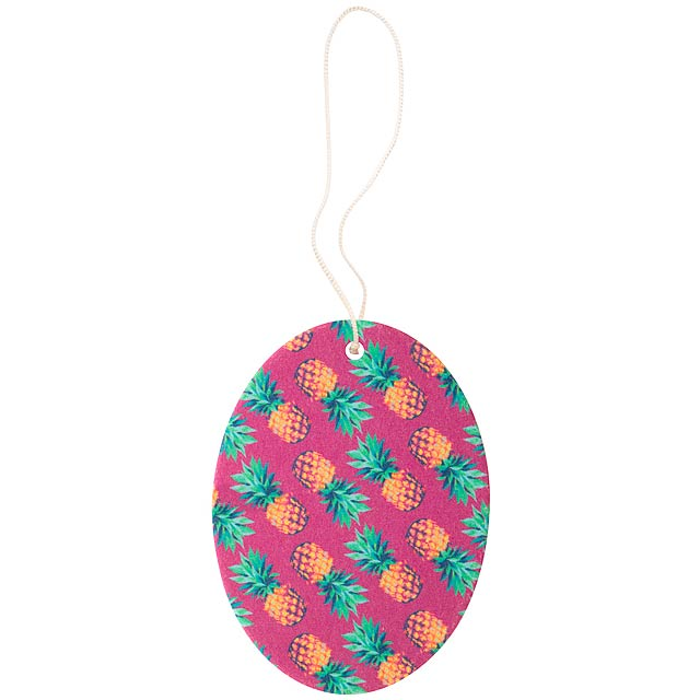CreaScent aromatická visačka na zakázku - multicolor