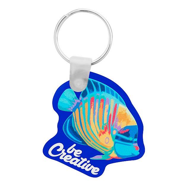 CreaFob přívěšek na klíče - modrá