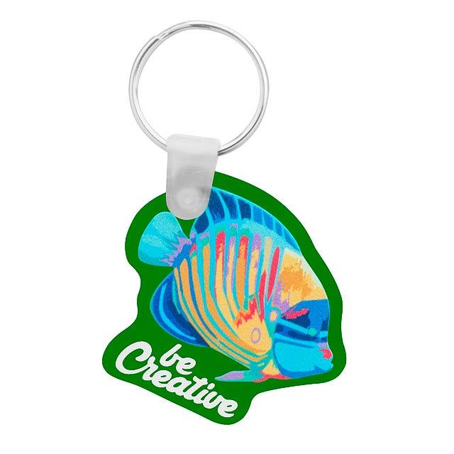 CreaFob přívěšek na klíče - zelená