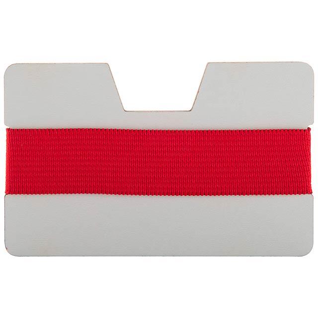 StriCard obal na karty - červená