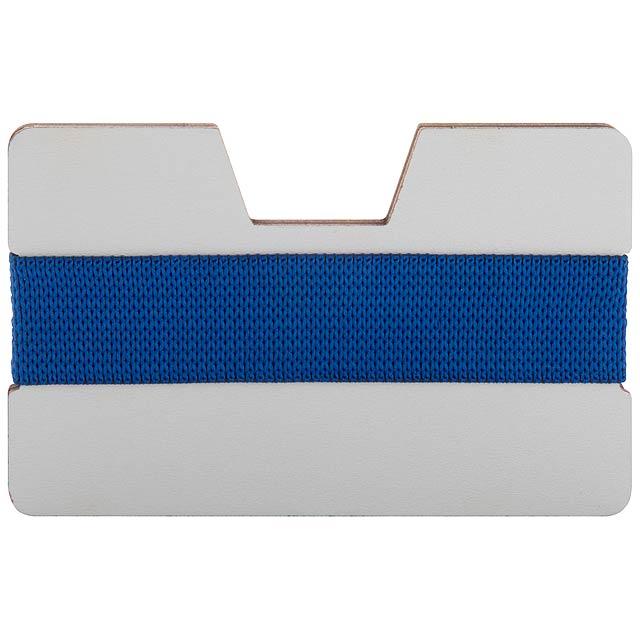 StriCard obal na karty - modrá