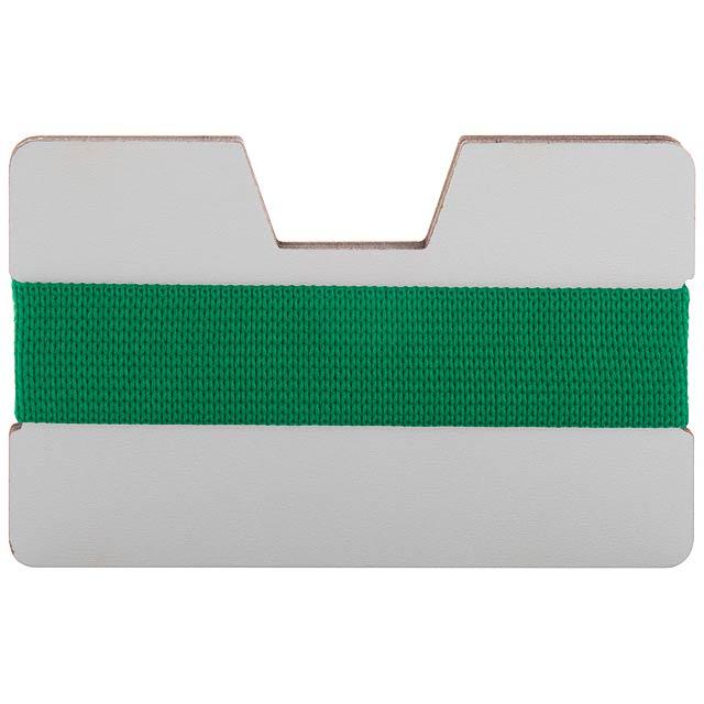 StriCard obal na karty - zelená