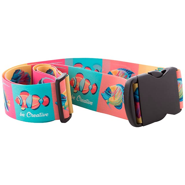 Terminal pásek na kufry na zakázku - multicolor