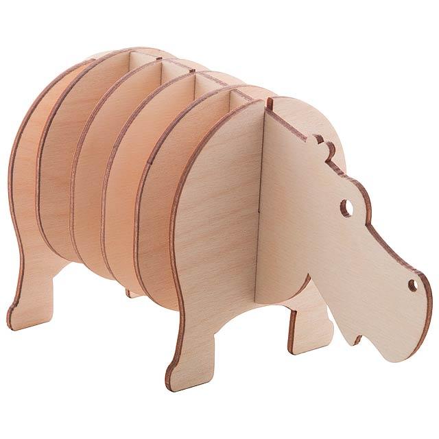 Noah sada podtácků - dřevo