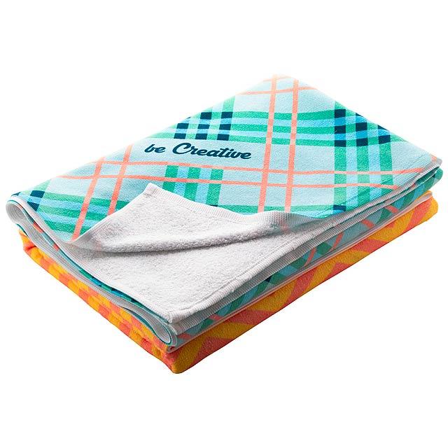 CreaTowel L ručník se sublimací - bílá