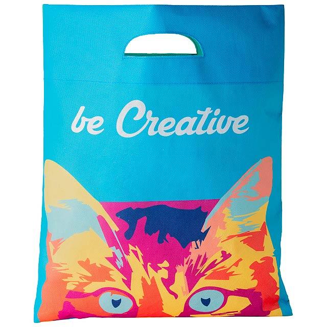SuboShop Zero nákupní taška z netkané textilie na zakázku - multicolor