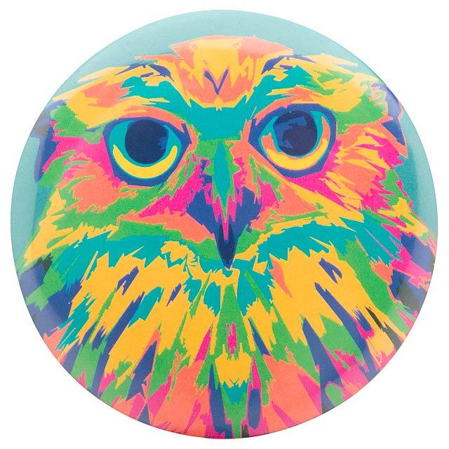 PinBadge Mini placka - odznak se špendlíkem - multicolor