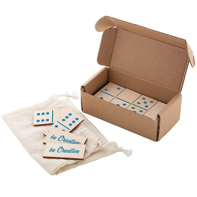 Sebastopol Plus domino - dřevo