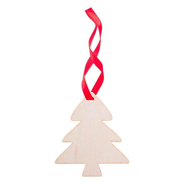 WoXmas vánoční ozdoba, stromek - multicolor