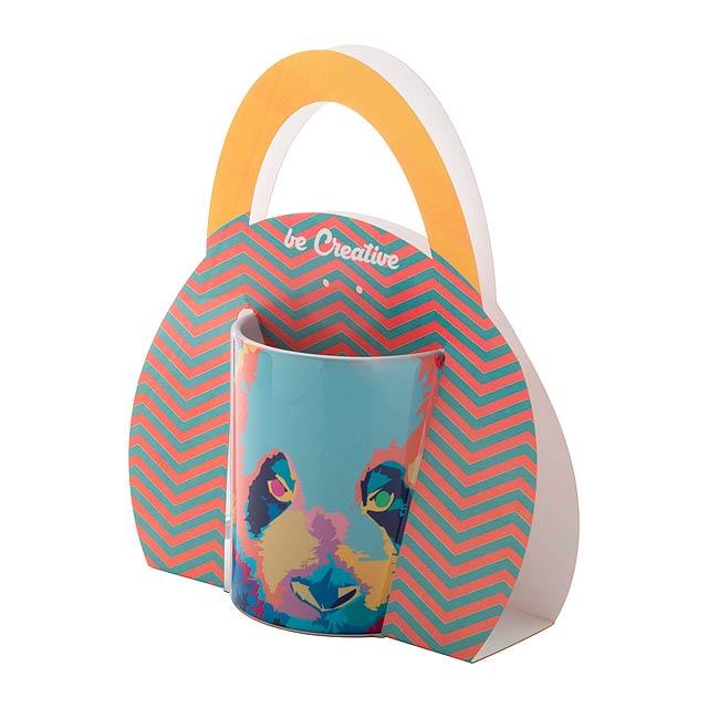 CarryMug přenosný držák na hrnek - multicolor