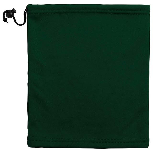 Ponkar teplý nákrčník a čepice - zelená