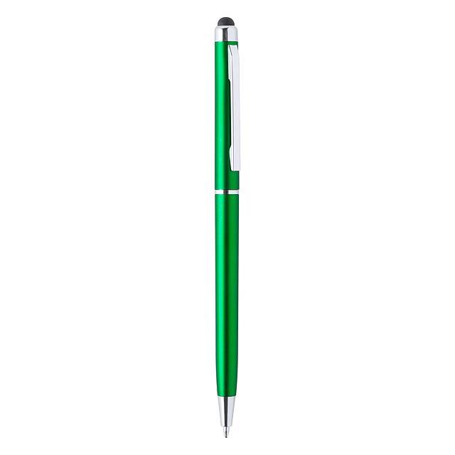 Alfil dotykové kuličkové pero - zelená