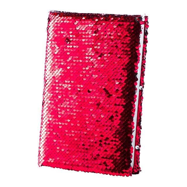 Velmont blok - červená
