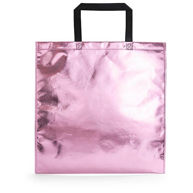 Poznan nákupní taška - růžová