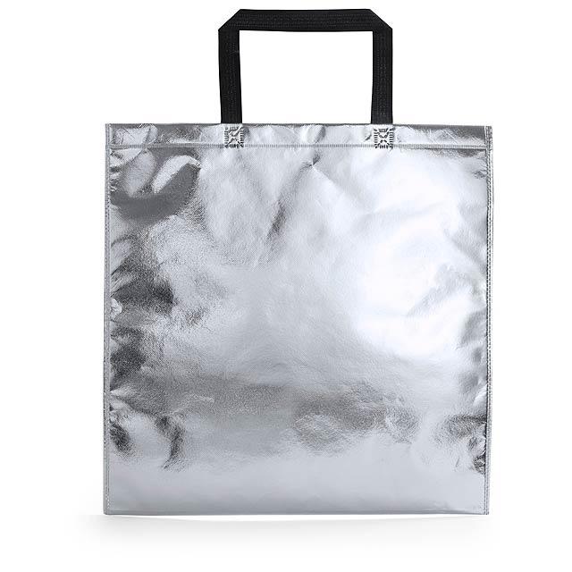 Poznan nákupní taška - stříbrná