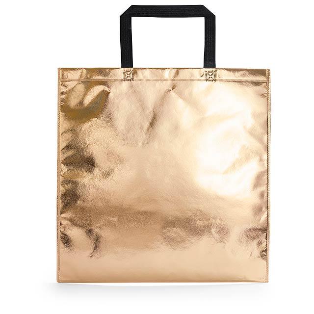 Poznan nákupní taška - zlatá