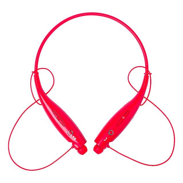 Tekren bluetooth sluchátka - červená