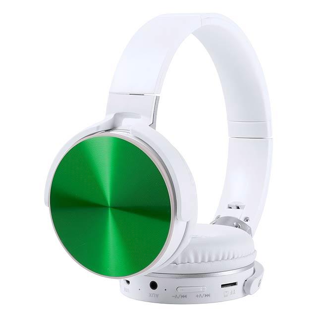 Vildrey bluetooth sluchátka - zelená