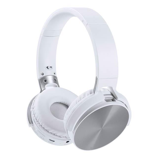Vildrey bluetooth sluchátka - stříbrná