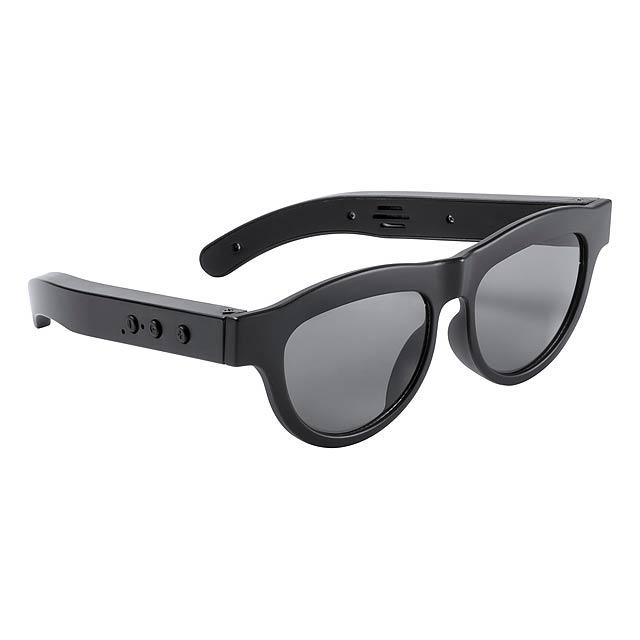 Varox sluneční brýle s bluetooth reproduktorem - černá