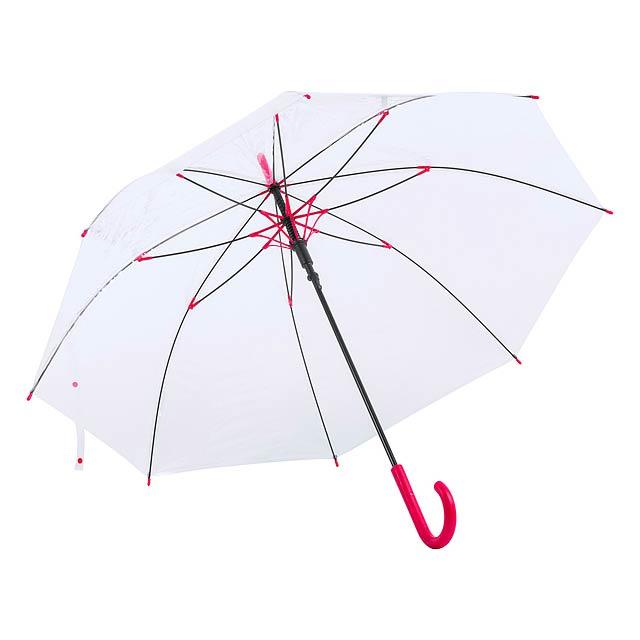 Fantux deštník - červená