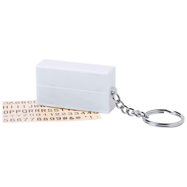 Kadilar přívěšek na klíče - bílá