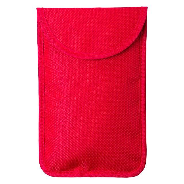 Hismal pouzdro - červená
