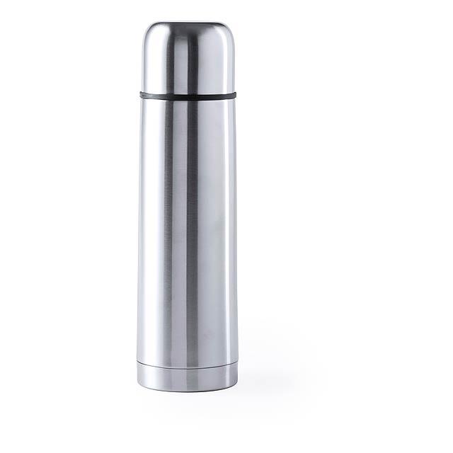 Tancher termoska - stříbrná