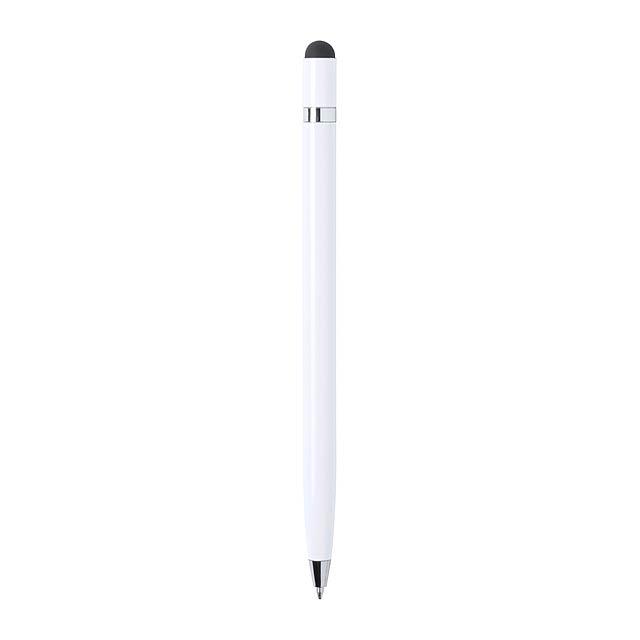 Mulent dotykové kuličkové pero - bílá