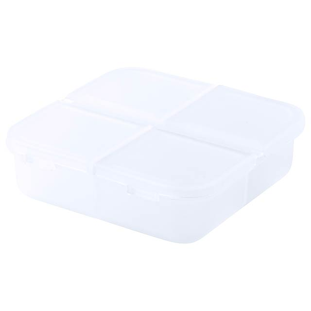 Edmor box na pilulky - bílá