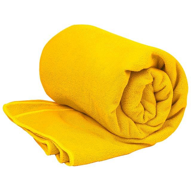 Bayalax absorbční ručník - žlutá
