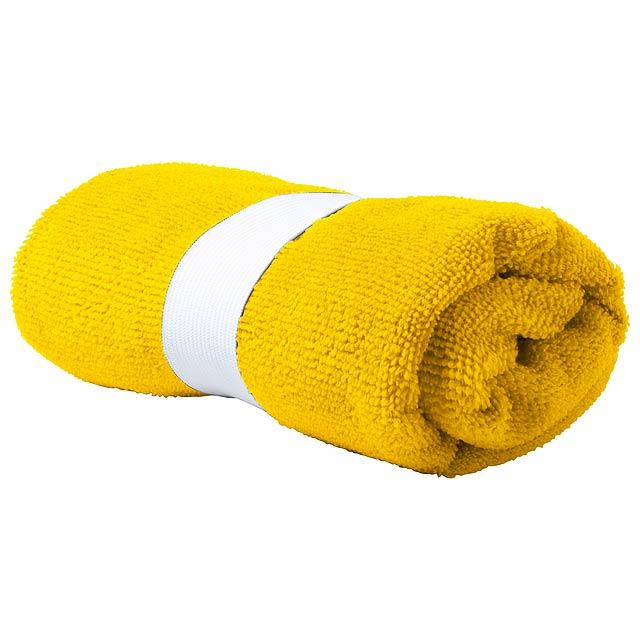 Kefan absorbční ručník - žlutá