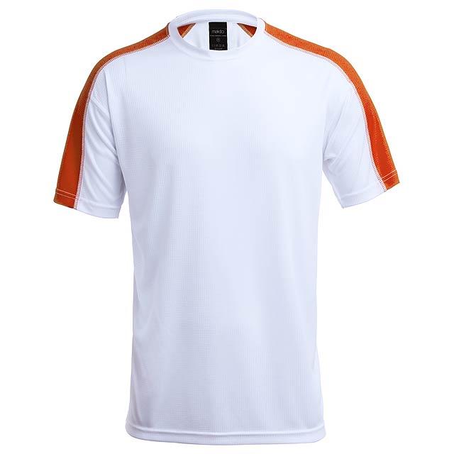 Sportovní, prodyšné tričko, 100% polyester, 135g/m². - oranžová - foto