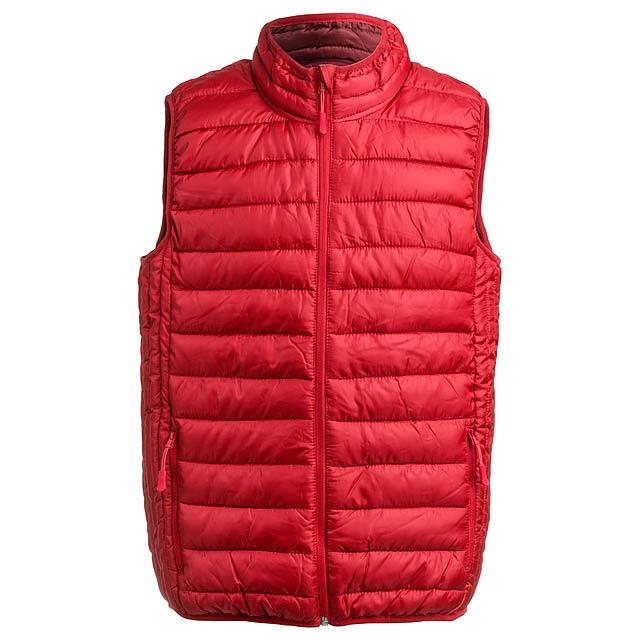 Belsan zateplená vesta - červená