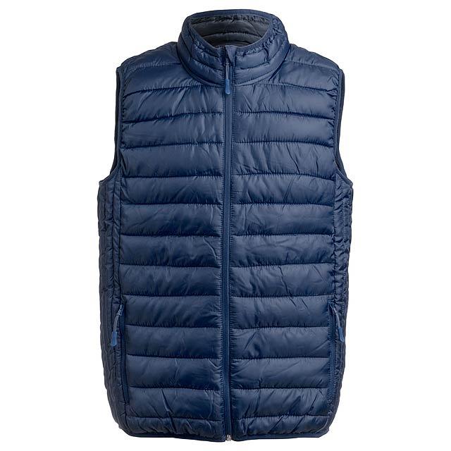 Belsan zateplená vesta - modrá