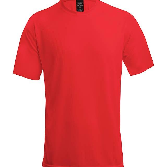 Tecnic Dinamic K dětské sportovní tričko - červená