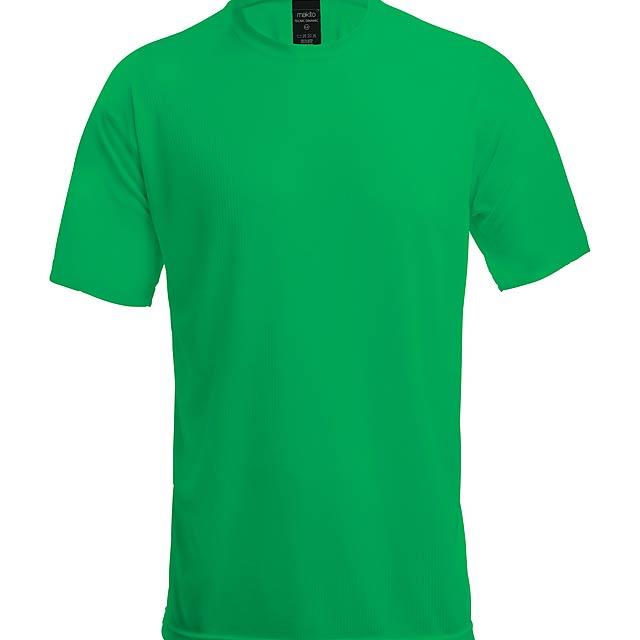 Sportovní prodyšné tričko pro děti, 100% polyester, 125 g/m². - zelená - foto
