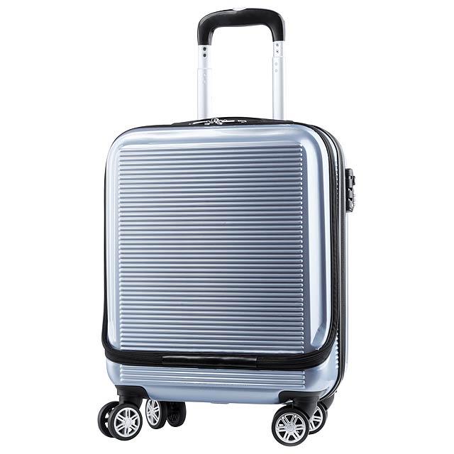 Kleintor kufr - stříbrná